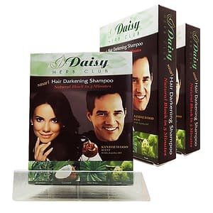 Daisy Herb Club Natural Dark Brown Have (1 Shampoo 1 Conditionor,1 Glove)
